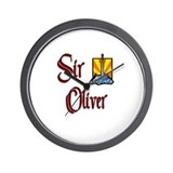 Sir Oliver Wall Clock