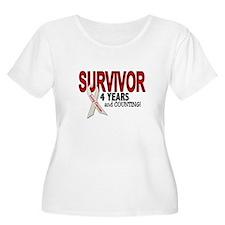 Lung Cancer Survivor 4 Years 1 T-Shirt