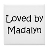 Cute Madalyn Tile Coaster