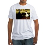 At the Piano Fitted T-Shirt