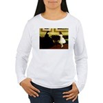 At the Piano Women's Long Sleeve T-Shirt