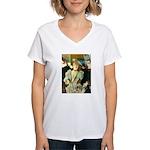 La Goulue Women's V-Neck T-Shirt