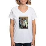 Stockings Women's V-Neck T-Shirt