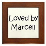 Unique Marcel Framed Tile