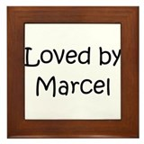 Cute Marcel Framed Tile