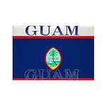 Guam Guaminian Flag Rectangle Magnet (100 pack)