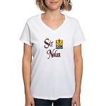Sir Nolan Women's V-Neck T-Shirt