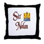 Sir Nolan Throw Pillow