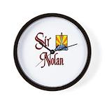 Sir Nolan Wall Clock