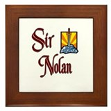 Sir Nolan Framed Tile