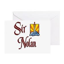 Sir Nolan Greeting Card