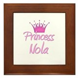 Princess Nola Framed Tile