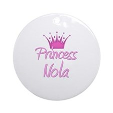 Princess Nola Ornament (Round)