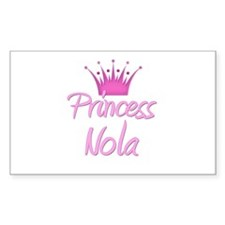 Princess Nola Rectangle Decal