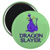 "Dragon Slayer 2.25"" Magnet (10 pack)"