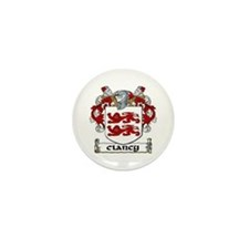 Clancy Coat of Arms Mini Button (10 pack)