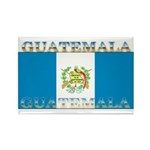 Guatemala Guatemalan Flag Rectangle Magnet (100 pa