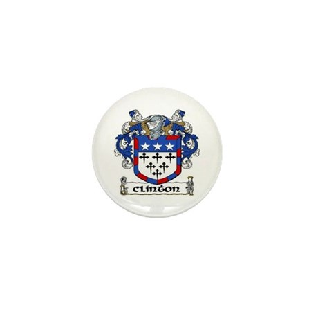 Clinton Coat of Arms Mini Button (10 pack)