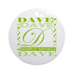 SIMPLY MYSELF Ornament (Round)