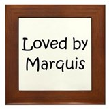 Cute Marquis Framed Tile