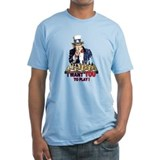 Uncle Sam Plays Chess Shirt