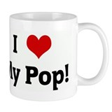 I Love My Pop! Mug