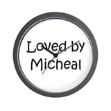 Funny Micheal Wall Clock