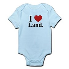 I Love Land Infant Bodysuit