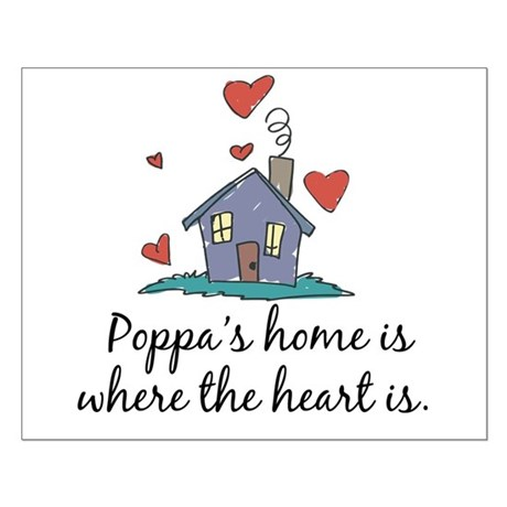 Poppa's Home is Where the Heart Is Small Poster