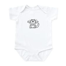 Unique Jackie cartoons Infant Bodysuit