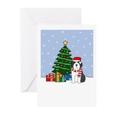 Beardie Season's Greetings Greeting Cards (20 Pk)