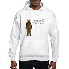 Wicker Man Bear Suit Punch Hoodie