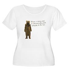 Wicker Man Bear Suit Punch T-Shirt