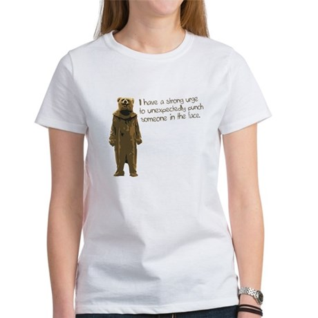 Wicker Man Bear Suit Punch Women's T-Shirt