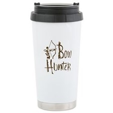 Bow Hunting Ceramic Travel Mug