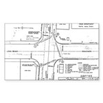 County Signal Number 1 Rectangle Sticker 10 pk)