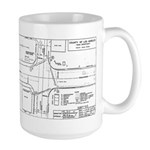 County Signal Number 1 Large Mug