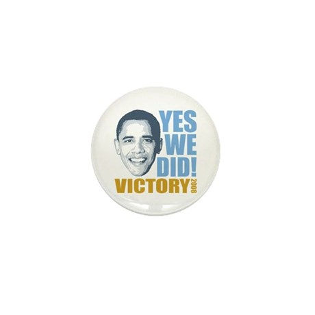 Yes We Did VICTORY Mini Button (100 pack)