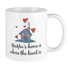 YiaYia's Home is Where the Heart Is Mug