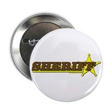 "SHERIFF ~ BROWN-YELLOW 2.25"" Button (100 pack)"