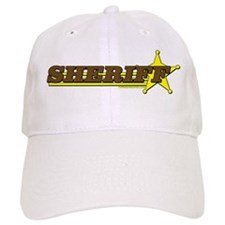 SHERIFF ~ BROWN-YELLOW Baseball Cap