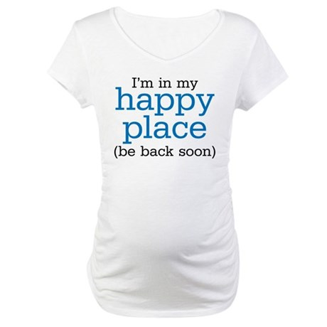 Happy Place Maternity T-Shirt