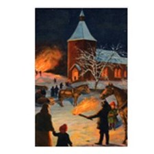 God Jul Postcards (Package of 8)