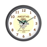 Funny Rails to trails Wall Clock