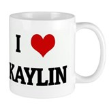 I Love KAYLIN Small Mugs