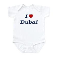 I HEART DUBAI Infant Bodysuit