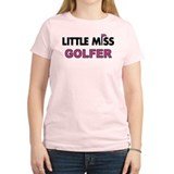 Little Miss Golfer - T-Shirt