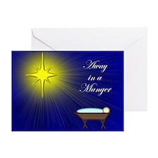 Peace & Joy Manger Greeting Cards (Pk of 20)