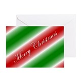 Family Stripe Greeting Card