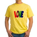 LOVE & Friendship Yellow T-Shirt